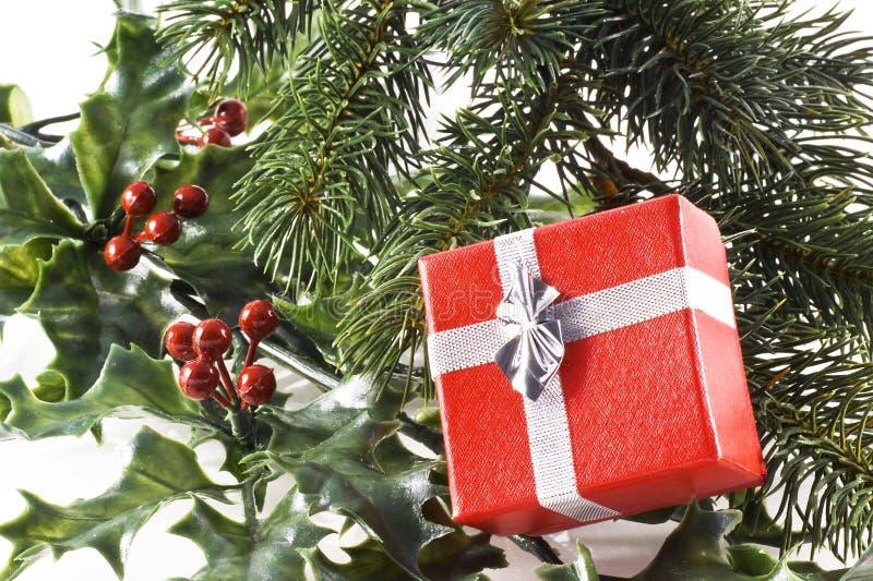 Regalo di Natale. fotografia stock