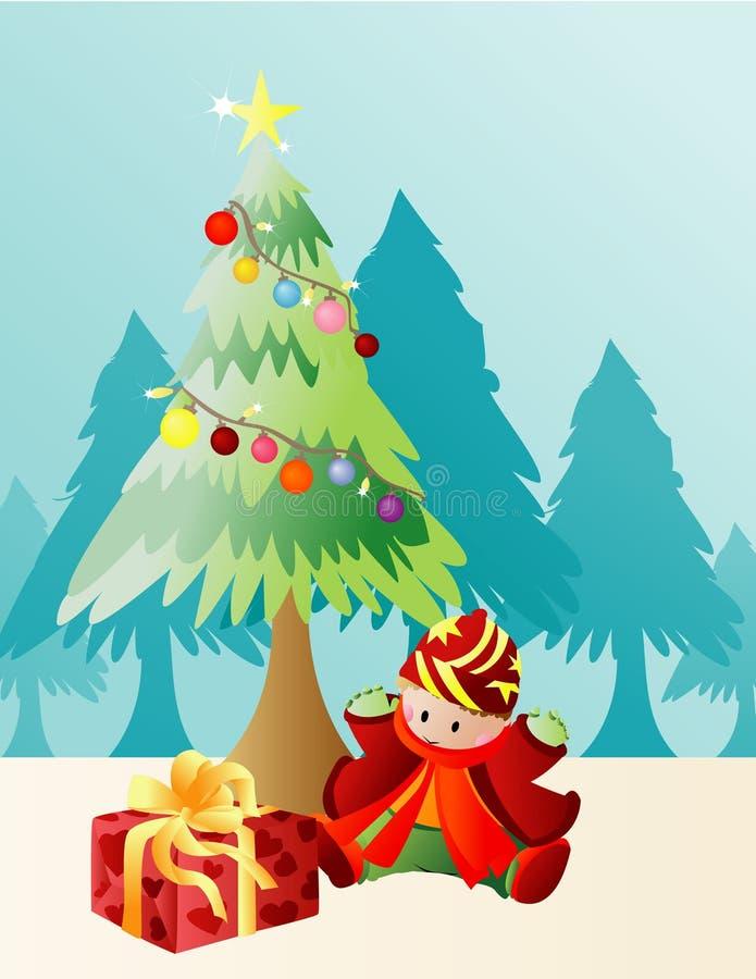 Regalo di Natale royalty illustrazione gratis
