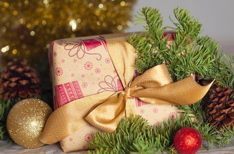 Regalo di Natale fotografie stock