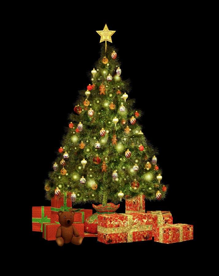Regalos CA de la Navidad ilustración del vector