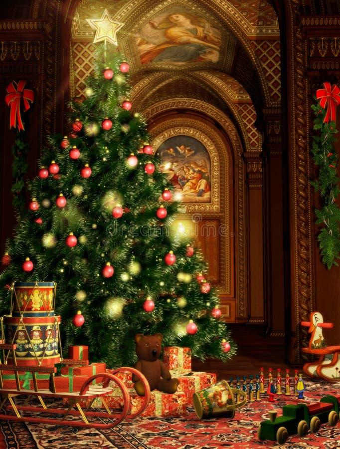 Regalos de la Navidad ilustración del vector