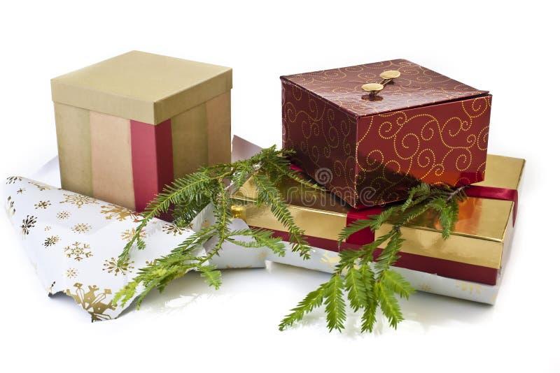 Download Regalos de la Navidad imagen de archivo. Imagen de saludo - 7277083