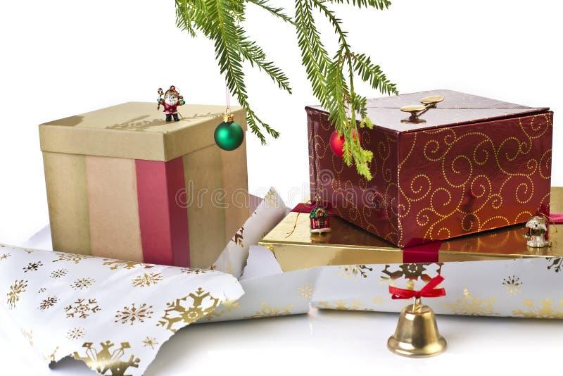 Download Regalos de la Navidad imagen de archivo. Imagen de rectángulo - 7277089