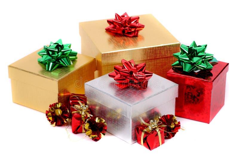Download Regalos de la Navidad foto de archivo. Imagen de celebración - 7288824