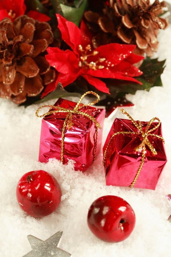 Regalos de Navidad fotos de archivo