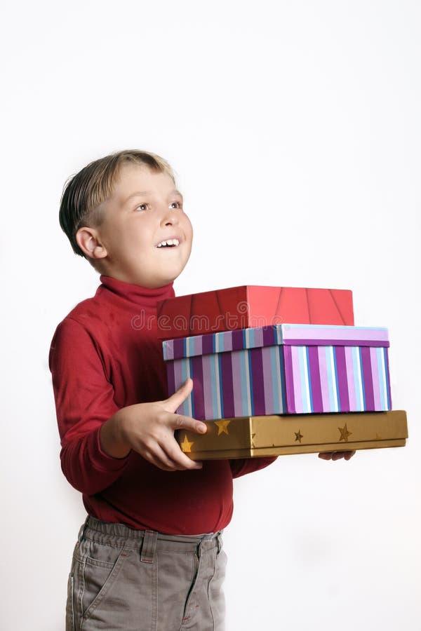 Regalos a montones fotos de archivo libres de regalías
