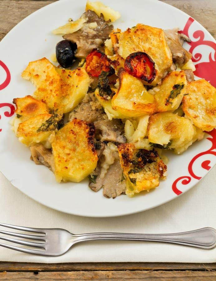 Download Regan Of Mushrooms And Potatoes Stock Photo - Image: 21857744