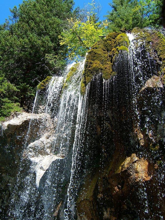 Regando a cachoeira imagens de stock royalty free