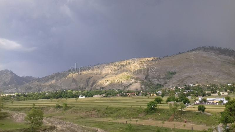 Regard d'osm de Mountain View images libres de droits