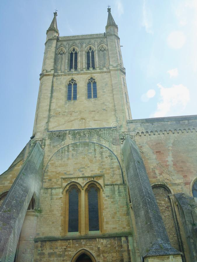 Regarder l'abbaye photos libres de droits