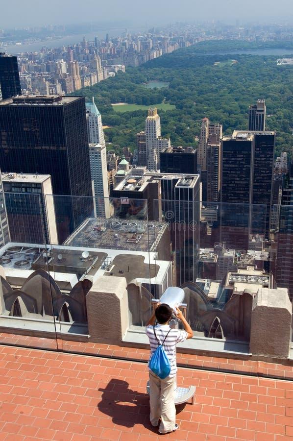 Regarder New York photos libres de droits