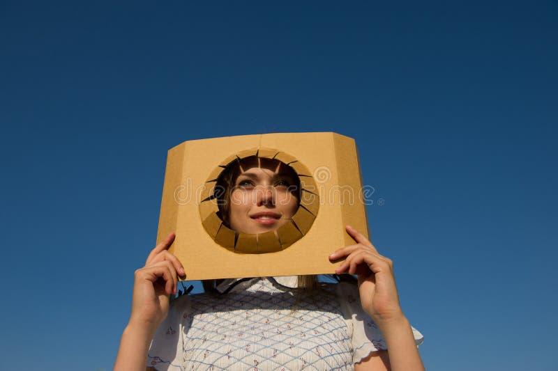 Regards de fille photographie stock libre de droits