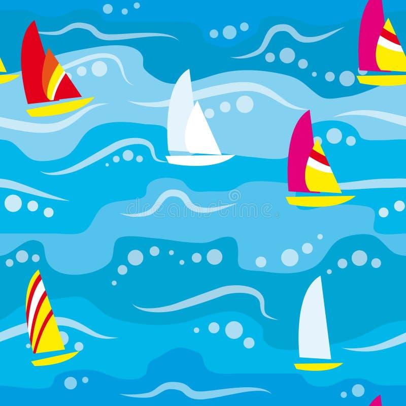 regatta ανασκόπησης άνευ ραφής ελεύθερη απεικόνιση δικαιώματος