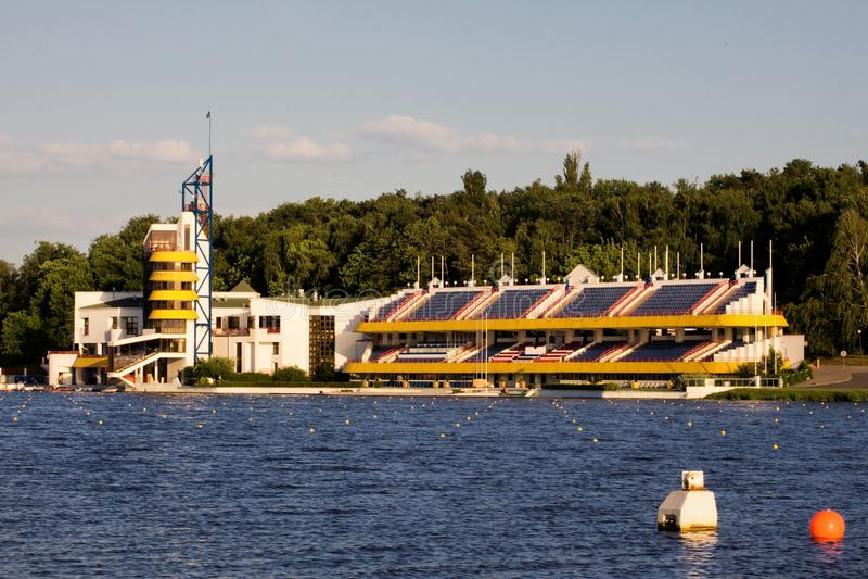 regatta курса стоковая фотография rf