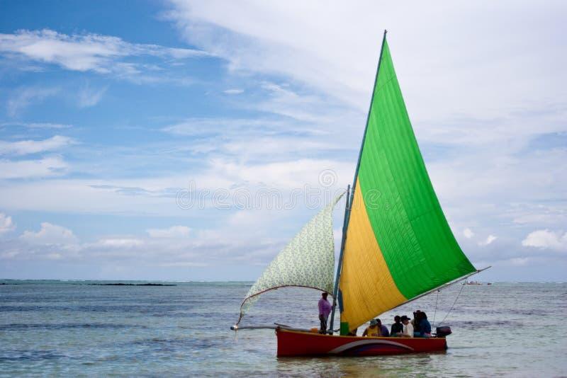 regatta Маврикия стоковое изображение