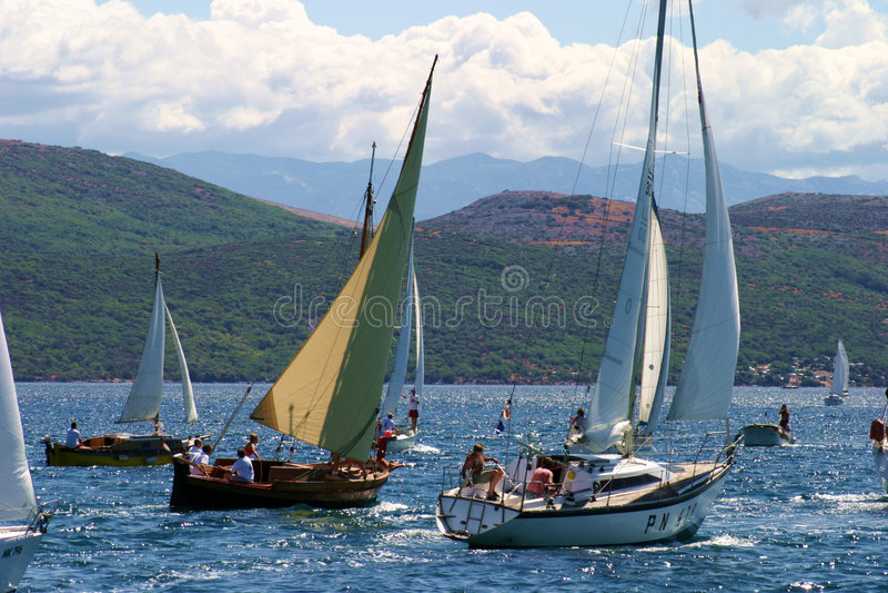 regatta стоковая фотография