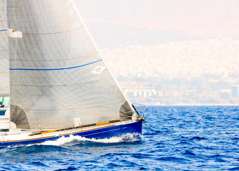 Regatta da navigação fotografia de stock royalty free