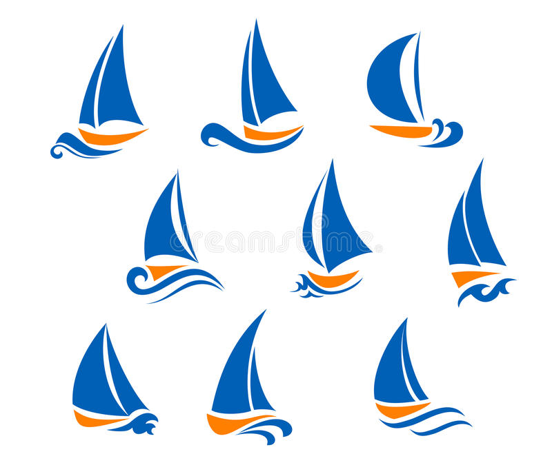 regatta symbole ilustracji