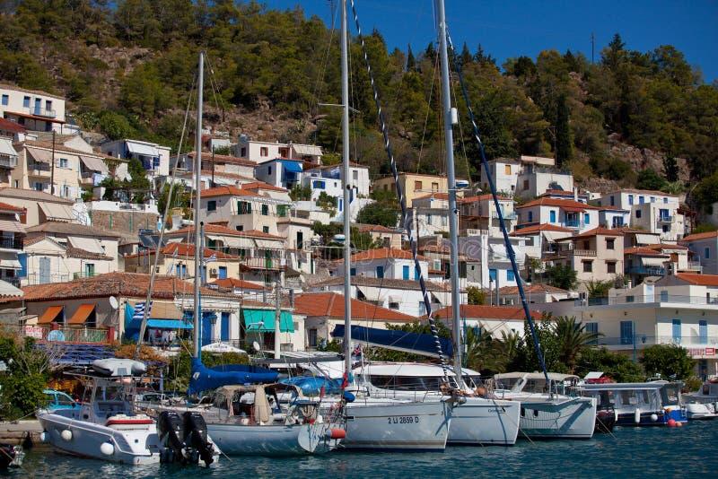 Regatta Viva Greece 2012 da navigação foto de stock
