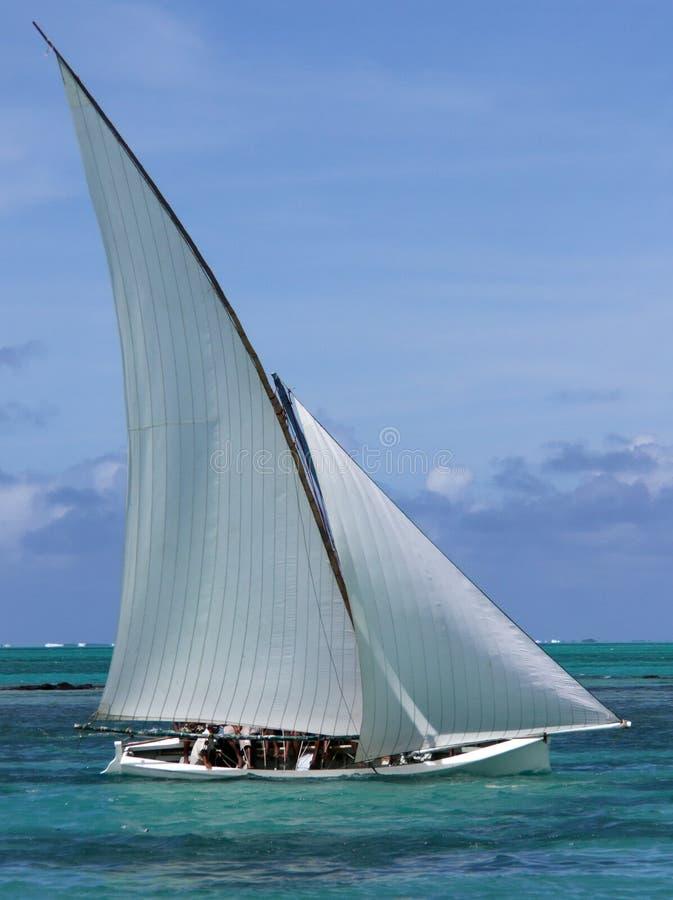 Regattaboot 2 lizenzfreies stockfoto