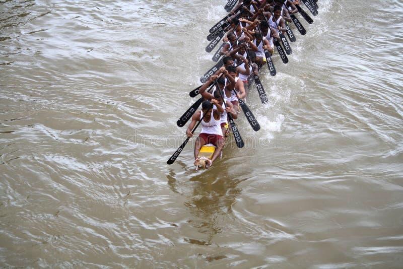 Regatten von Kerala lizenzfreies stockbild