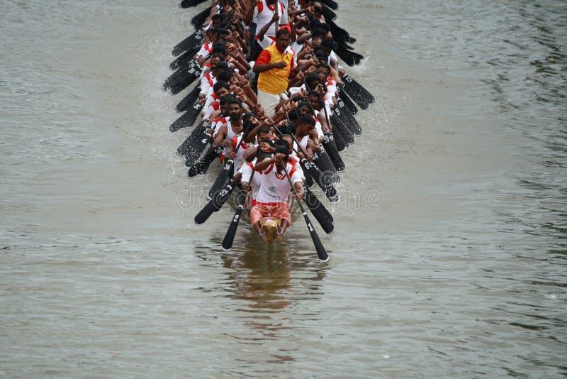 Regatten von Kerala lizenzfreies stockfoto