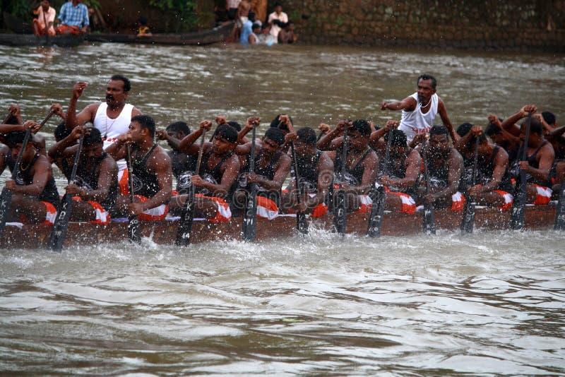 Regatten von Kerala stockfotografie