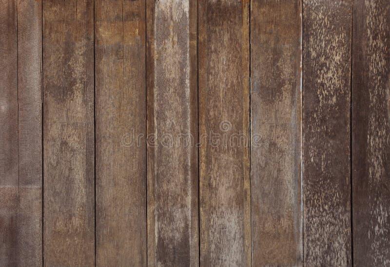 Regeling van het oude gebruik van het schors houten geweven paneel als houten korrel royalty-vrije stock foto's
