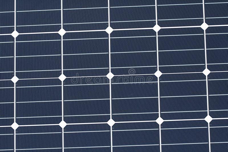 Regelmatig patroon van een photovoltaic module royalty-vrije stock afbeelding