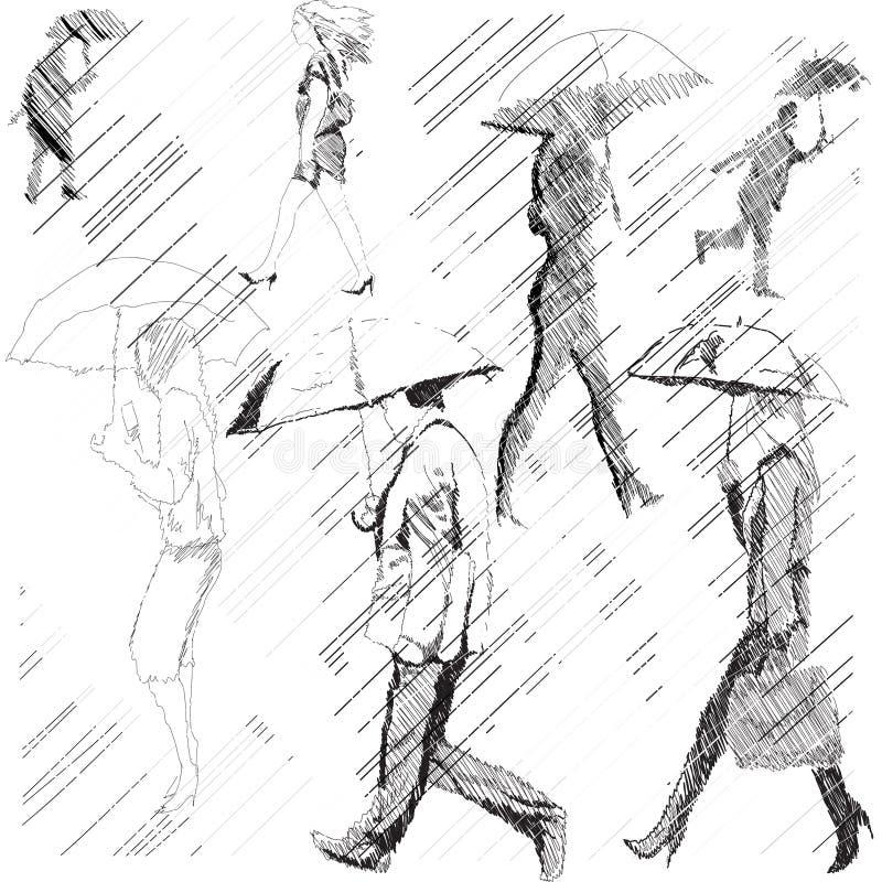 Regen vektor abbildung