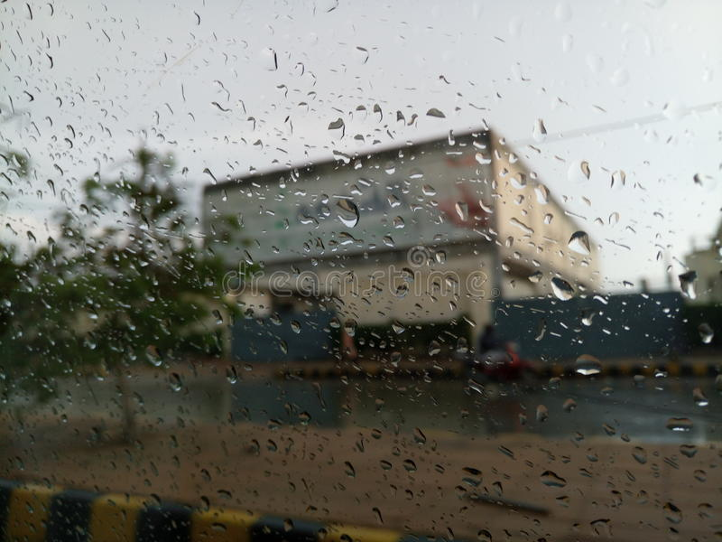 Regen lizenzfreies stockbild