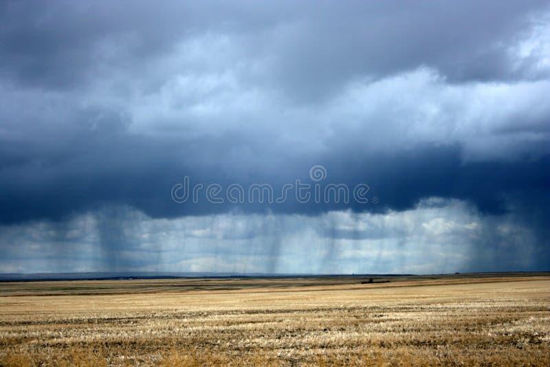 Regen kommt stockfotografie