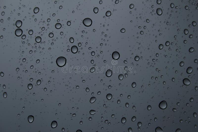 Regen op een venster royalty-vrije stock afbeelding