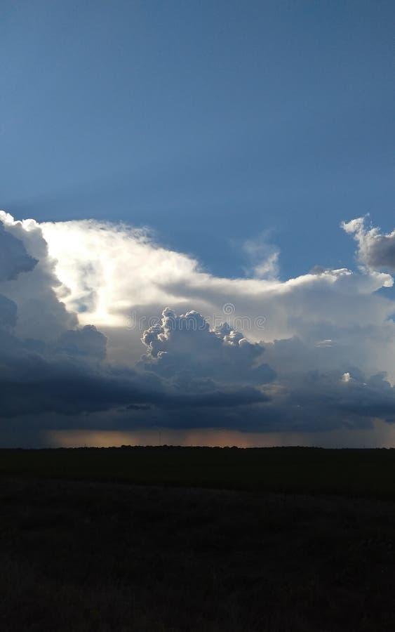 Regen/Sonnenschein stockfotografie