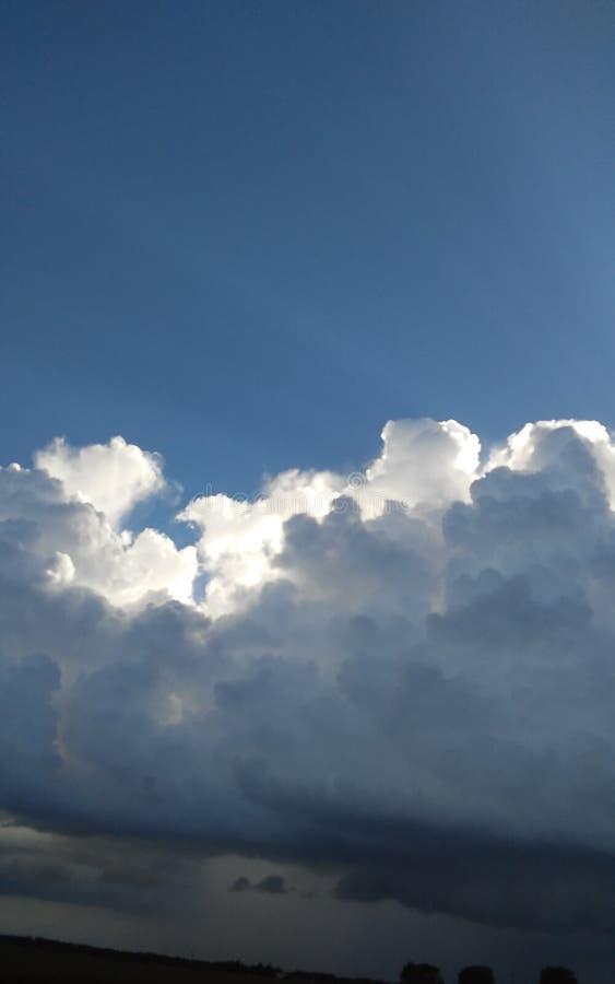 Regen/Sun lizenzfreies stockbild