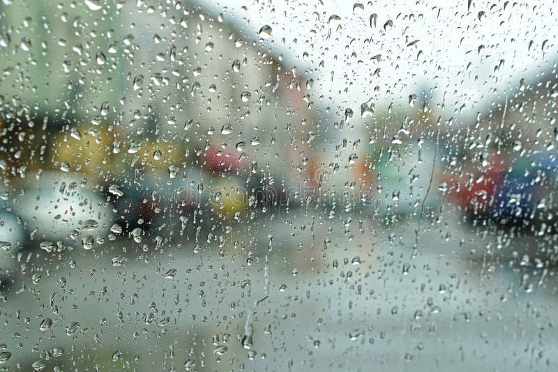 Regenachtig dagweer royalty-vrije stock afbeeldingen