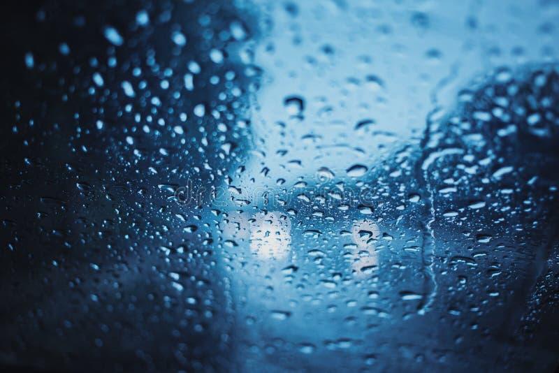 Regenachtige dagen, Donker onweersweer royalty-vrije stock foto's