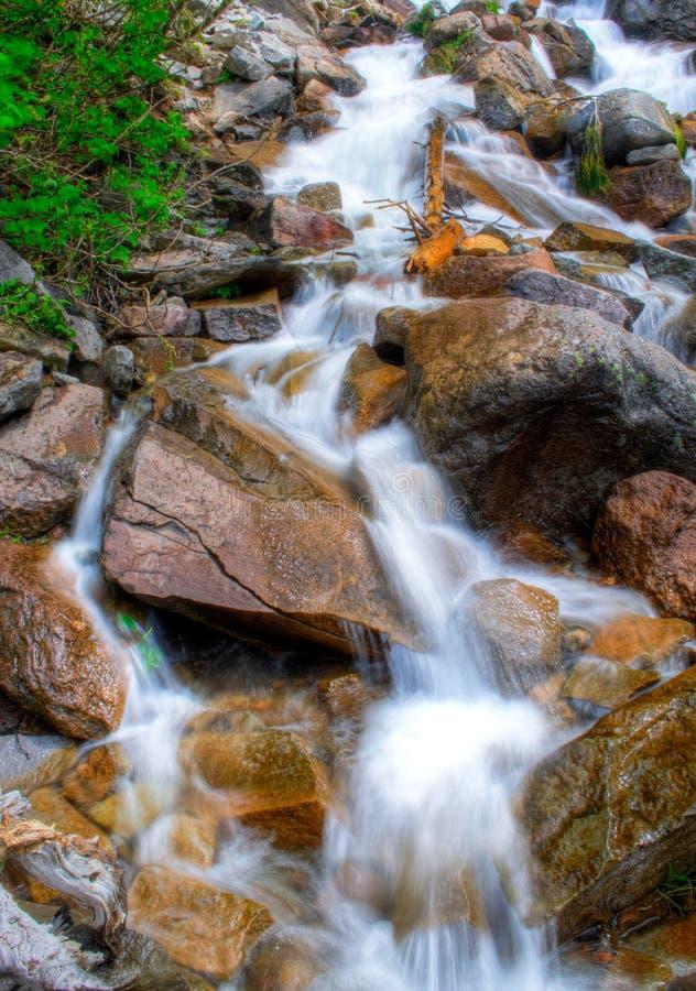 Regenachtigere Waterval stock afbeelding