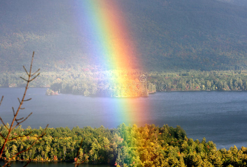 Regenbogen lizenzfreie stockfotografie