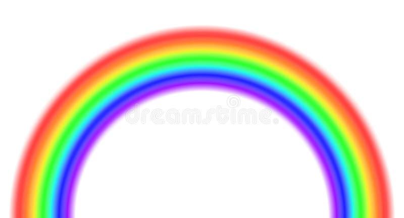 Regenbogen stock abbildung