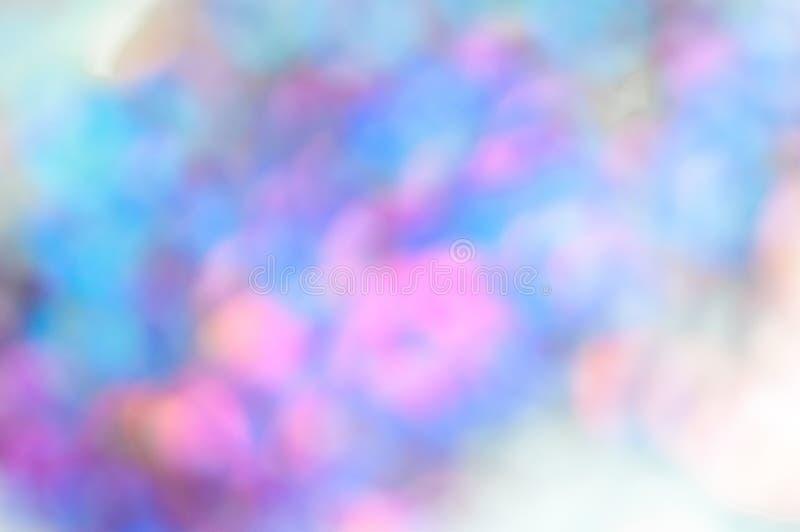 Regenbogen bokeh Lichter, abstrakter Hintergrund, Telefontapete stockbilder