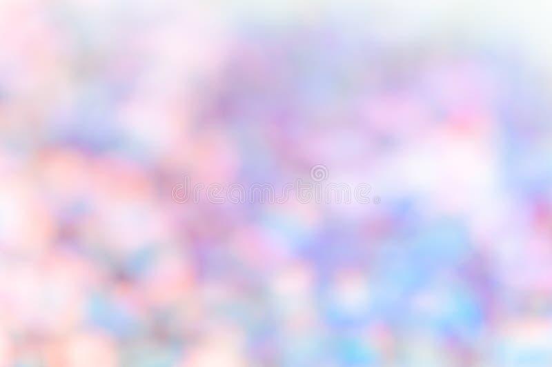 Regenbogen bokeh Lichter, abstrakter Hintergrund, Telefontapete lizenzfreies stockbild