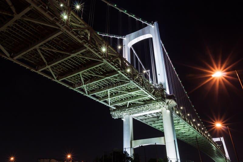 Regenbogen-Brücke in Japan  lizenzfreie stockfotografie