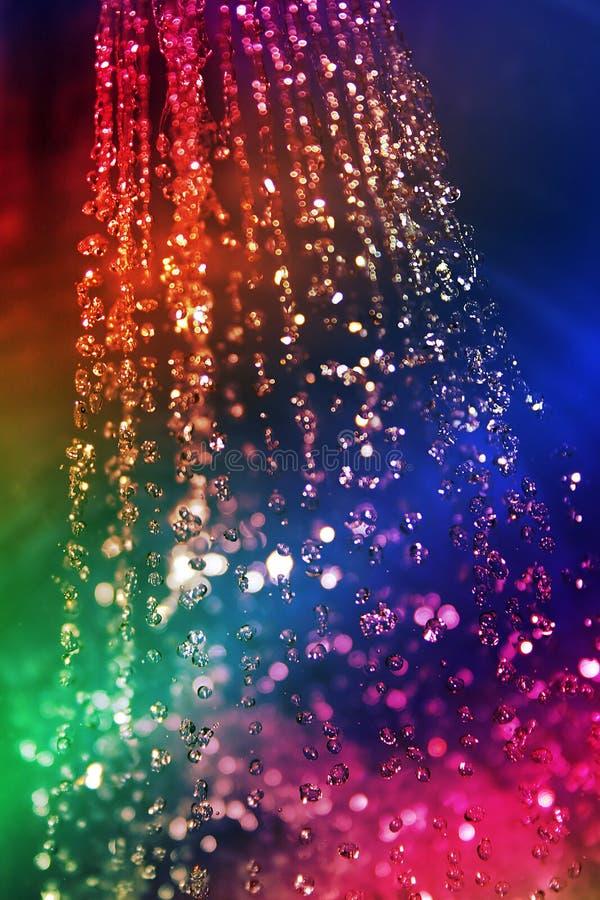 Regenbogen des Wassers lizenzfreie stockfotos