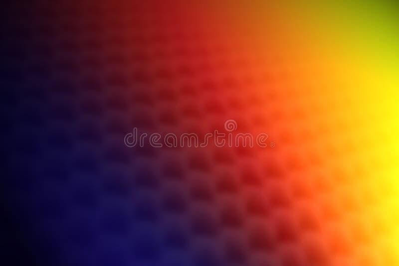 Regenbogen färbt Beschaffenheitshintergrund vektor abbildung