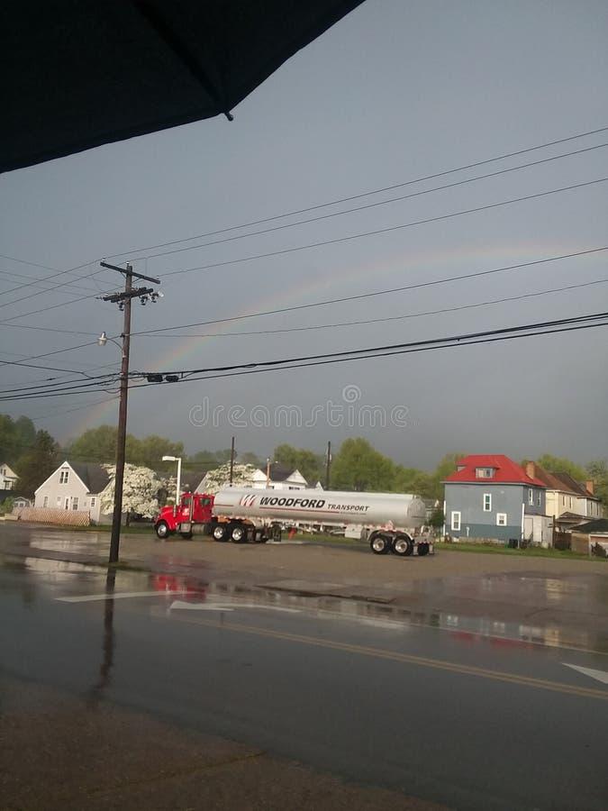 Regenbogen für immer lizenzfreie stockfotografie