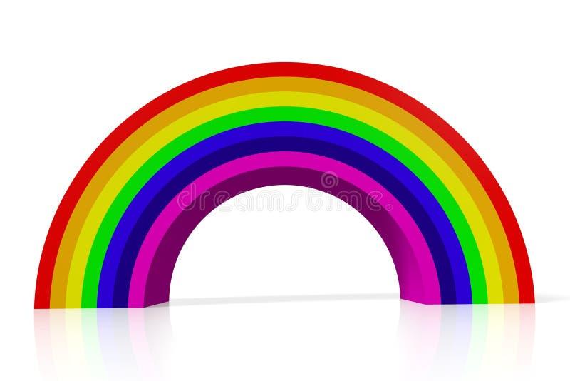 regenbogen farben lgbt homosexueller homo stock abbildung illustration von familie paare. Black Bedroom Furniture Sets. Home Design Ideas