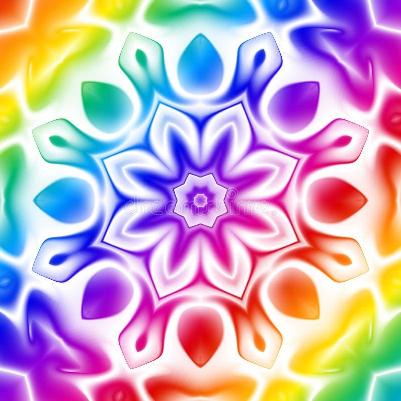 Regenbogen-Kaleidoskop vektor abbildung
