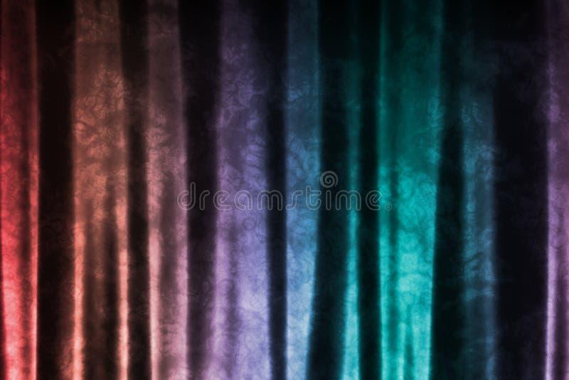 Regenbogen-Musik spornte DJ-abstrakten Hintergrund an lizenzfreie abbildung