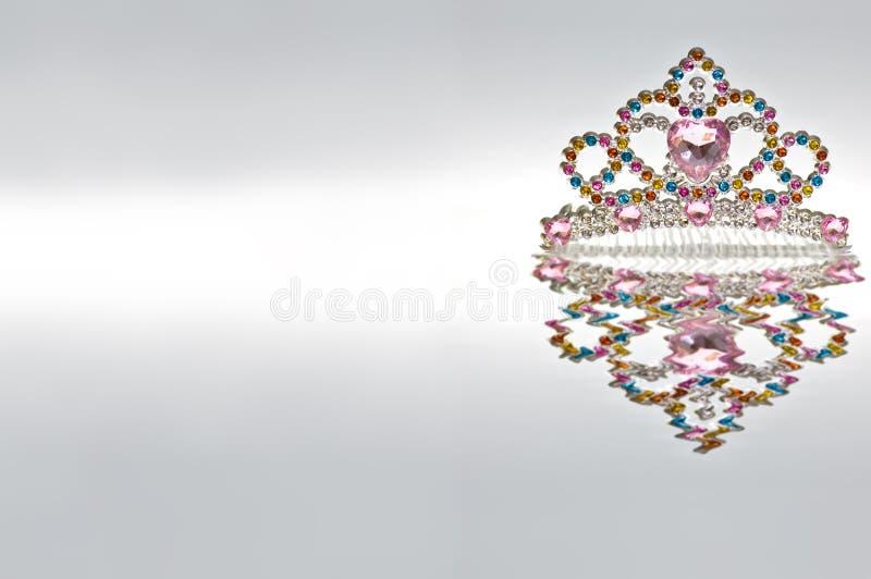 Regenbogen-Tiara getrennt lizenzfreies stockbild